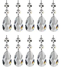 Magnetic Crystals For Chandeliers Amazon Com 5 Pieces Diamond Hanging Crystal Garland Wedding