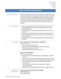 Sample Social Worker Resume No Experience by Download Daycare Resume Haadyaooverbayresort Com