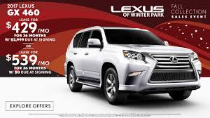 lexus rx 350 for sale gainesville fl specials on new lexus vehicles at lexus of winter park