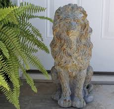 lion garden statue lion statue lion garden statue antique farmhouse