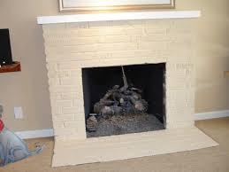 arresting paint a brick fireplace 1175 painting interior brick