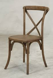 chair driftwood x back u2013 professional party rentals