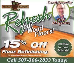 Hardwood Floor Refinishing Mn Off Floor Refinishing Mn Hardwood Floor Renewal Northfield Mn