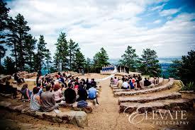 colorado mountain wedding venues ampitheatre boulder wedding wedding