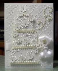276 best white on white cards images on cards wedding