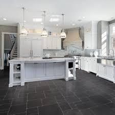 Grey Kitchen Floor Ideas Backsplash Black Kitchen Floor Tiles Dark Grey Kitchen Floor