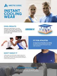 amazon com arctic cool men u0027s sleeveless instant cooling shirt