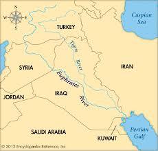 Yellow River Map Euphrates River Map My Blog