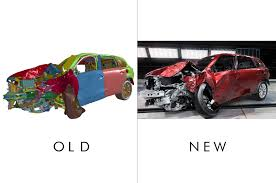 lexus vs mercedes crash test honda 3dxcite make virtual crash tests more realistic automobile