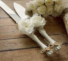Wedding Cake Cutter Rustic Wedding Cake Server Set U0026 Knife Cake Cutting Set Wedding