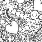flower coloring pages adults kleurplaten pinterest gekimoe u2022 112281