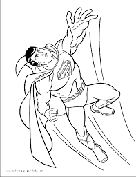 superman coloring sheet pics photos superman coloring pages