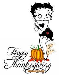 betty boop pictures archive thanksgiving happy thanksgiving