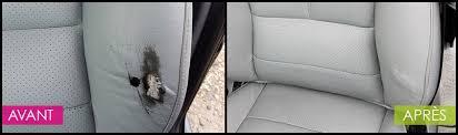 reparation siege cuir service de réparation cuirs auto ecolave