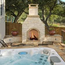 Outdoor Fireplace Patio Designs Tiered Outdoor Fireplace Design Compliments Patio Archadeck