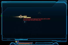 swtor bounty hunter guide swtor legacy system guide the basics