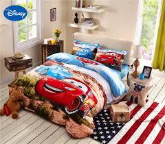lightning mcqueen cars bedding set cotton bedclothes cartoon