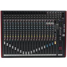 siege audio console allen heath zed 22fx mixer experience south africa
