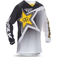 black motocross gear fly racing 2017 kinetic mesh rockstar motocross jersey mx enduro