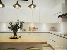 modern scandinavian kitchen design in shah alam interior design