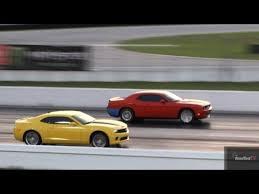 whats better a camaro or challenger challenger srt 8 6 1 l vs camaro ss 6 speed drag race