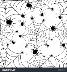 bright halloween background abstract seamless pattern girls boys creative stock vector