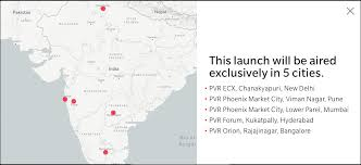 oneplus 5t u0027s launch to be live streamed at pvr cinemas the