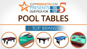 top pool table brands best pool table reviews 2017 how to choose the best pool table