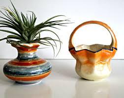 vintage vases etsy