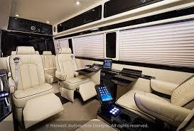 Conversion Van Accessories Interior Luxury Mercedes Sprinter Midwest Automotive Designs