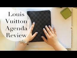 louis vuitton desk agenda louis vuitton desk agenda review filofax comparison refill