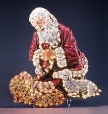 santa and baby jesus picture 26768new jpg