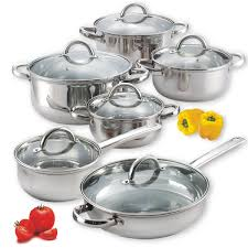 home pans cook n home stainless steel cookware review
