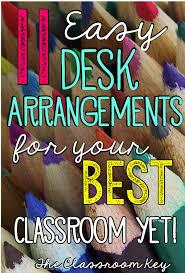 Classroom Desk Set Up Více Než 25 Nejlepších Nápadů Na Pinterestu Na Téma Classroom Desk