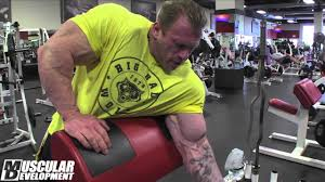 olympia bound dennis wolf arms pt 2