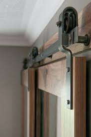 Hanging Closet Doors Bypass Sliding Barn Door Hardware Tutorial Collage Exterior