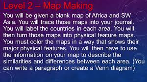 Blank Map Of Southwest Asia by Africa And Southwest Asia 3c Levels Learning I Will Be Able To