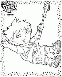 Go Diego Go Coloring Pages Asoboo Info Go Diego Go Coloring Pages