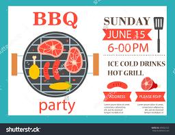 bbq party invitation cloveranddot com