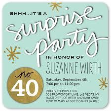 birthday invitations 40th birthday invitations shutterfly