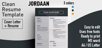 Free Colorful Resume Templates Clean Resume Template Simple Resume Templates 75 Examples Free