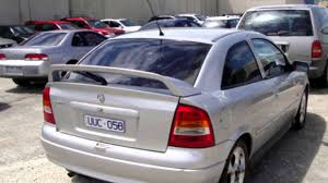2003 holden astra ts my03 sri silver 5 speed manual hatchback