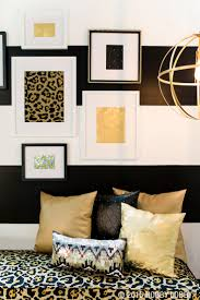 White Bedroom With Gold Accents 132 Best Modern Glam Home Decor Images On Pinterest Hobby Lobby