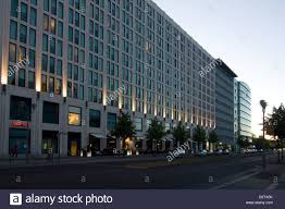 marriott hotel berlin mitte stock photo royalty free image