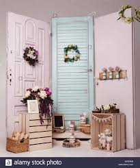 Interior Design With Flowers Interior Decoration Setup With Flowers And Picture Frame Pink