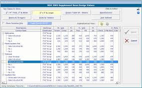 Lvl Beam Span Table by Calculation Modules U003e Beams U003e Wood Beam