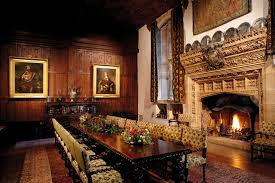Spotlight On The Castle The Dining Hall Hever Castle - Castle dining room