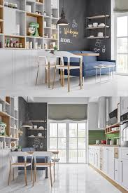 Chalkboard Kitchen Backsplash Kitchen Beautiful Kitchen Breakfast Nooks Features Floor To