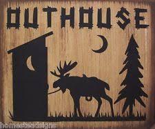 Outdoorsman Home Decor Unbranded Cabin Rustic Primitive Home Décor Plaques U0026 Signs Ebay