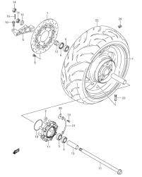 rear wheel rim parts